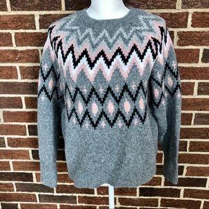 A New Day grey Crew Neck Sweater Sz S
